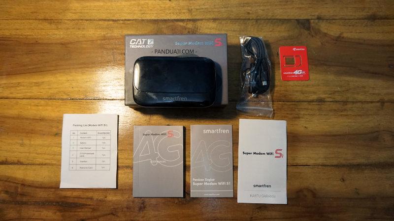 Dalam Box Mifi S1 Smartfren Terbaru