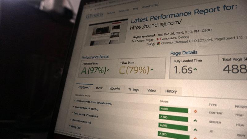 Kecepatan Akses Website