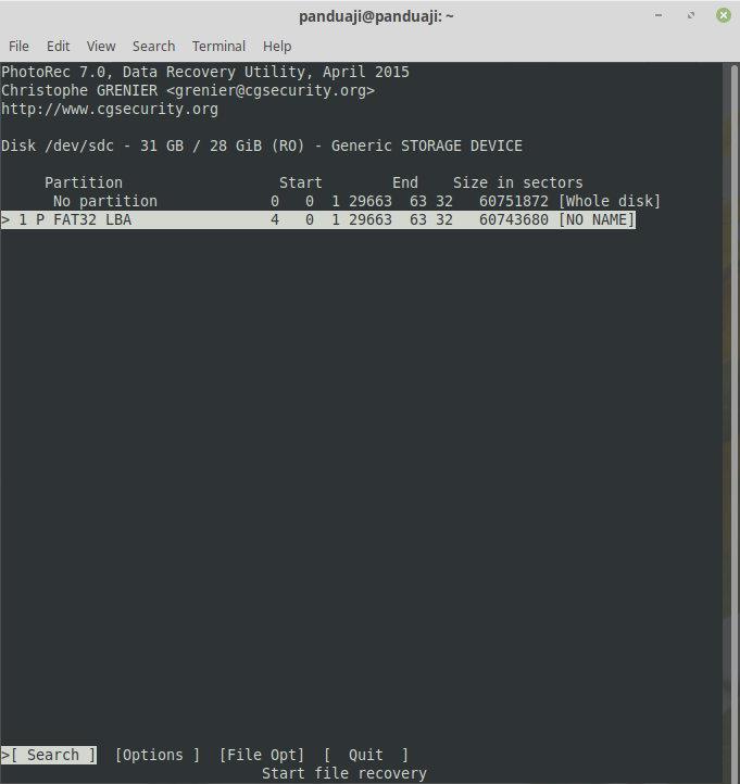 Cara Mengembalikan File yang Terhapus 1