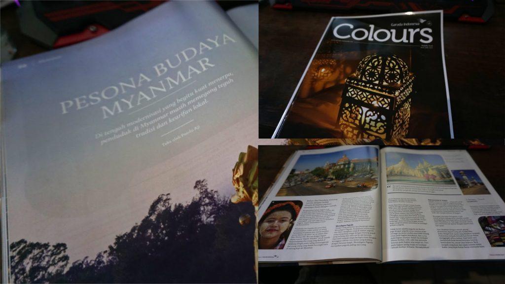 Menulis di Majalah Garuda Indonesia
