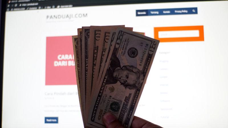 cara blogger dapat uang