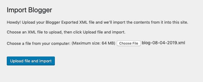 Setelah merubah maksimal upload di wordpress