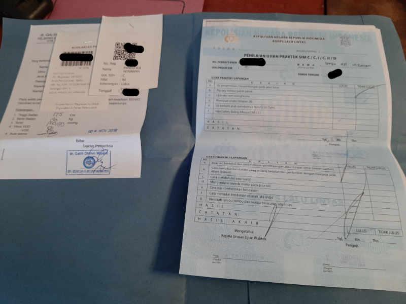 Berkas Pembuatan dan Ujian SIM C