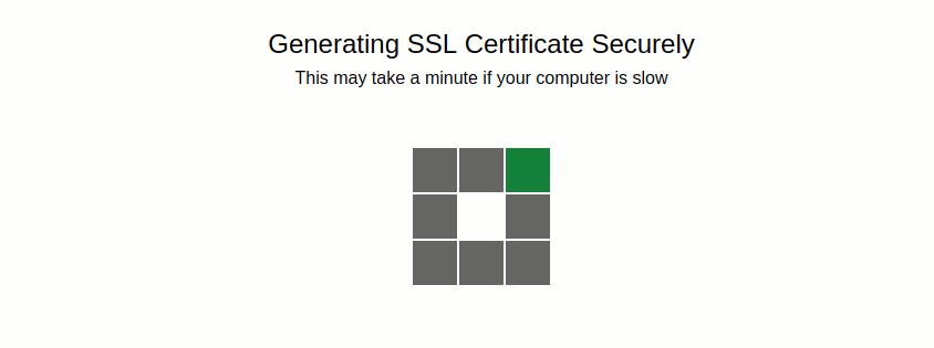 Generate Sertifikasi SSL Gratis