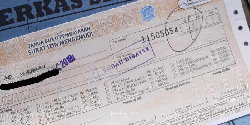 Pembayaran SIM
