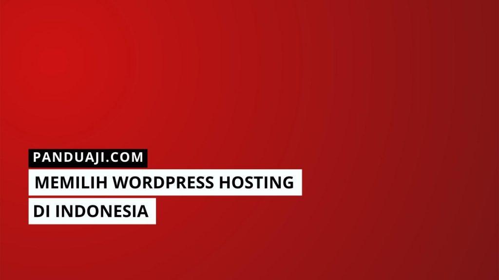 Wordpress Hosting Indonesia