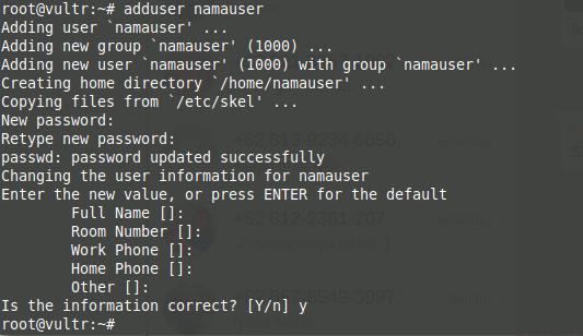 Add User VPS