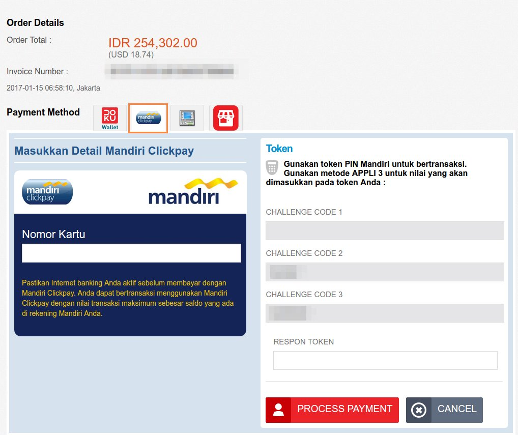 Internet Banking Mandiri
