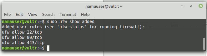 Firewall VPS