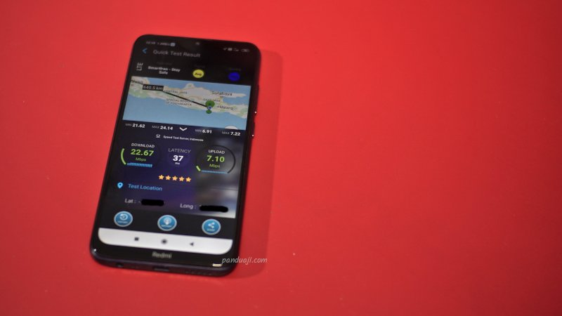 Test Speed Smartfren di Kota Blitar