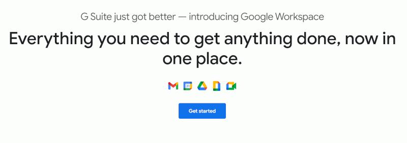 Buka Google Workspace
