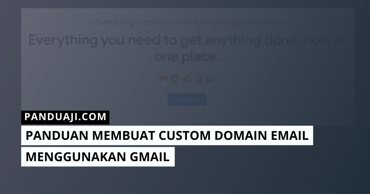 custom domain gmail