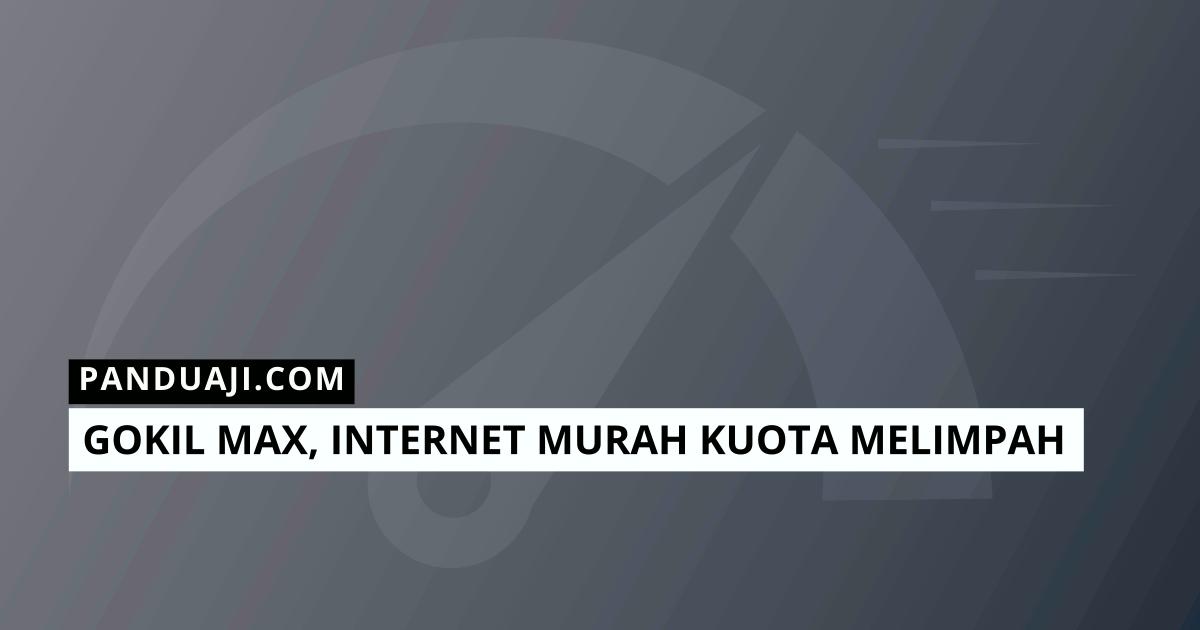 Internet Murah Kuota Melimpah