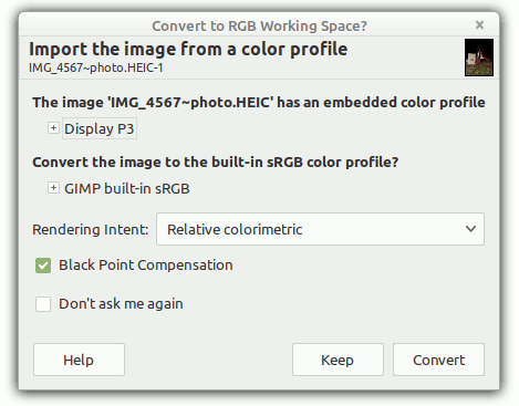 Convert Color to RGB